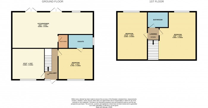 Floorplans For The Pastures, Newton, Wirral