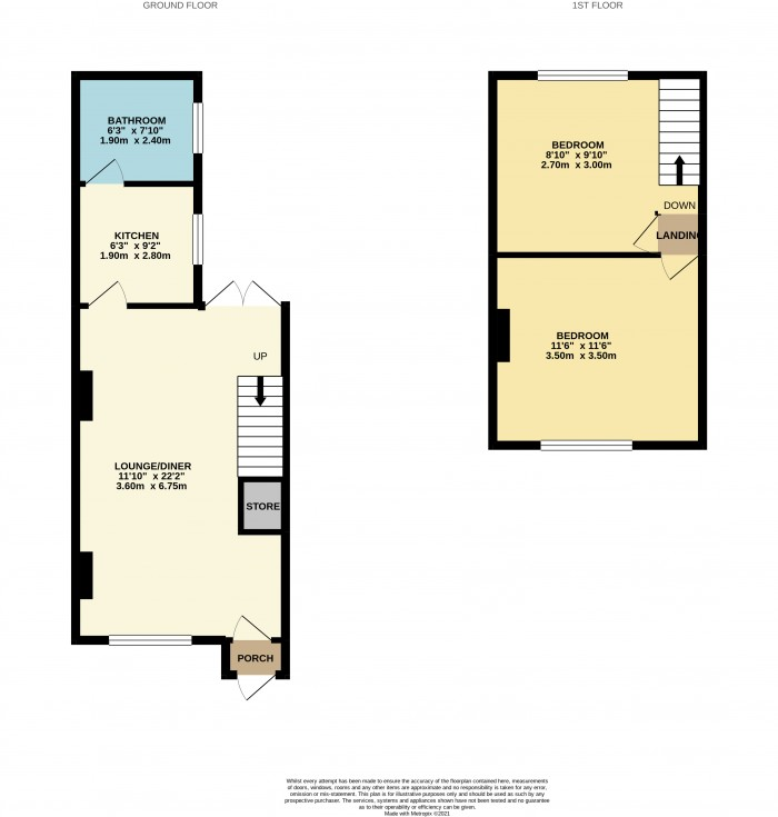 Floorplans For Lake Place, Wirral