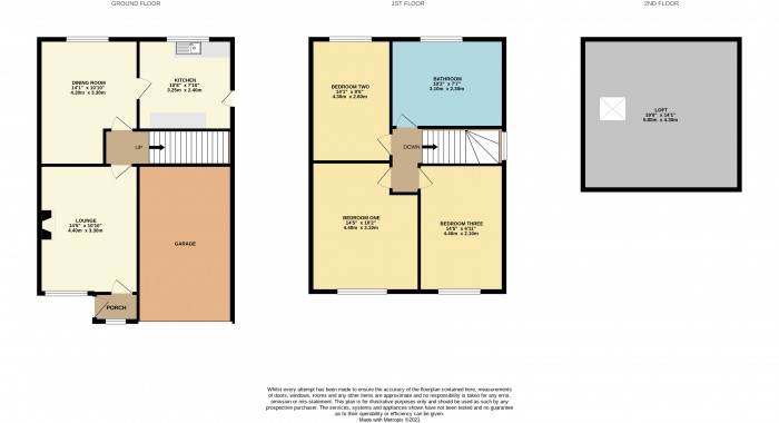 Floorplans For Osborne Road, Prenton, Wirral