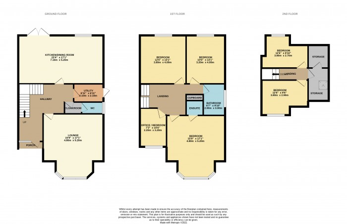Floorplans For Birkenhead Road, Meols, Wirral